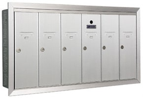 Florence 12506H Vertical Mailboxes Anodized Aluminum