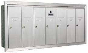 Florence 12507H Vertical Mailboxes Anodized Aluminum