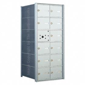 Florence 140062 Horizontal Mailbox Anodized Aluminum
