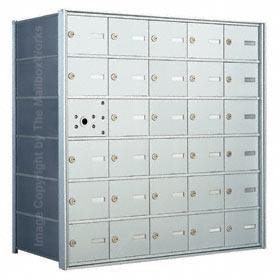 Florence 140065 Horizontal Mailbox Anodized Aluminum