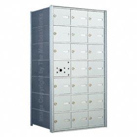 Florence 140073 Horizontal Mailbox Anodized Aluminum