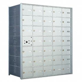 Florence 140075 Horizontal Mailbox Anodized Aluminum