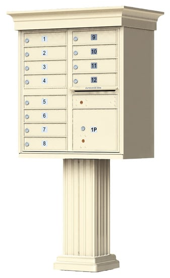 12 Door Vogue Classic CBU Mailboxes