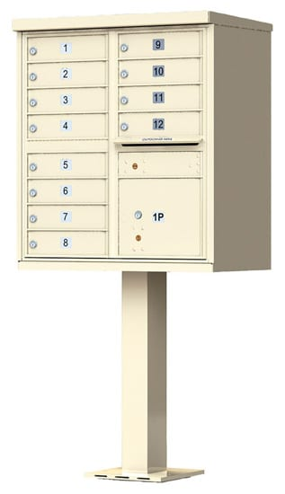 Florence 12 Door CBU Commercial Mailboxes