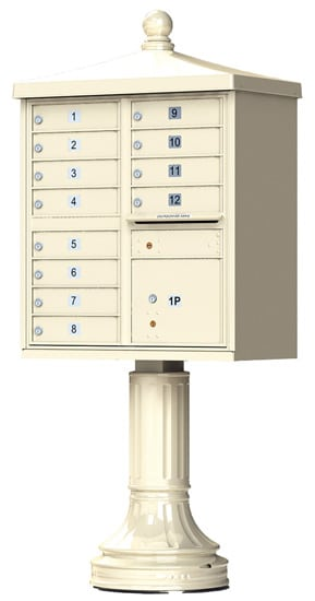 12 Door Vogue Traditional CBU Mailboxes