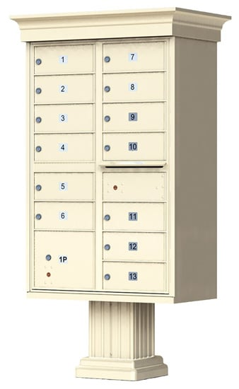13 Door Vogue Classic CBU Mailboxes