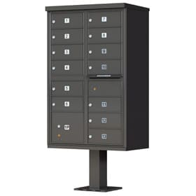 Florence 13 Door CBU Dark Bronze