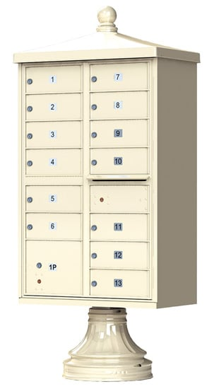 13 Door Vogue Traditional CBU Mailboxes