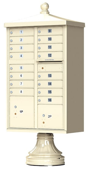 16 Door Vogue Traditional CBU Mailboxes