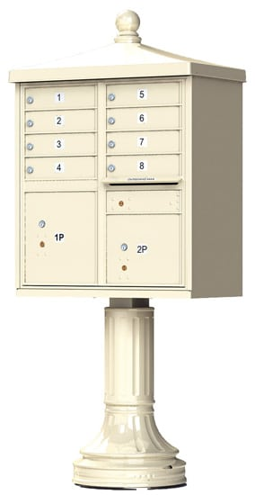 8 Door Vogue Traditional CBU Mailboxes