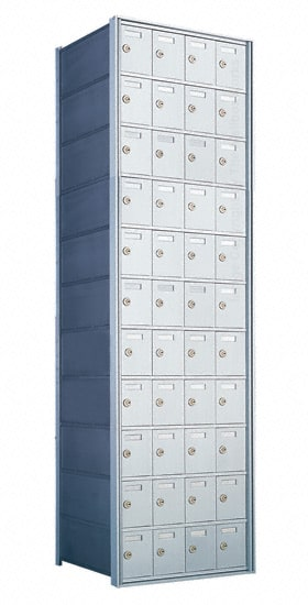 1700 Private Distribution Mailboxes 44 Door