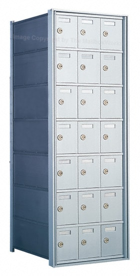 1700 Private Distribution Mailboxes 21 Door