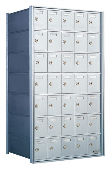 1700 Private Distribution Mailboxes 35 Door