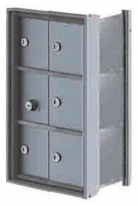 Florence Mini Storage Lockers 6 Door