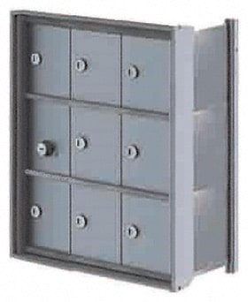 Florence Mini Storage Lockers 9 Door