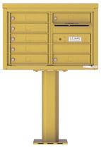 Florence 4C Pedestal 4C05D-07-P Gold Speck
