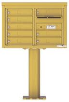 Florence 4C Pedestal 4C05D-08-P Gold Speck