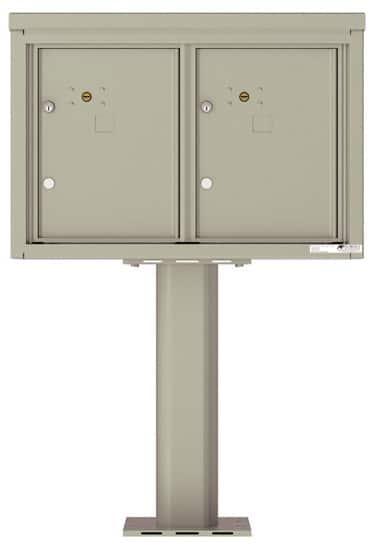 4C05D2P Parcel Lockers 4C Pedestal Mailboxes
