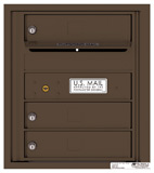 Florence 4C Mailboxes 4C05S-03 Antique Bronze