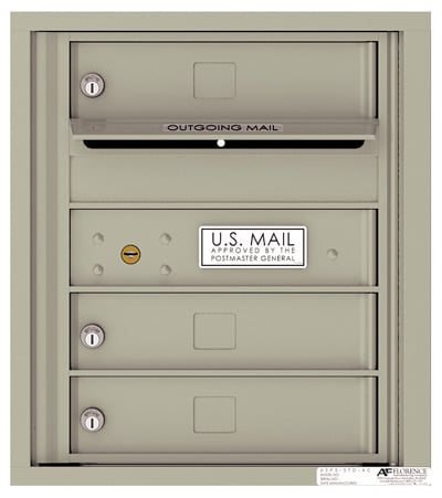 4C05S03 4C Horizontal Commercial Mailboxes