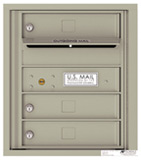 Florence 4C Mailboxes 4C05S-03 Postal Grey