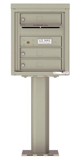 4C05S03-P Commercial 4C Pedestal Mailboxes
