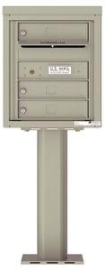 Florence 4C Pedestal 4C05S-03-P Postal Grey