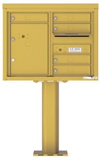 Florence 4C Pedestal 4C06D-05-P Gold Speck