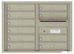 Florence 4C Mailboxes 4C06D-10 Postal Grey