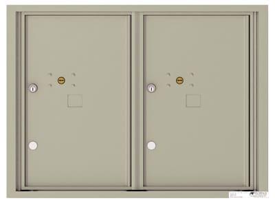 4C06D2P 4C Horizontal Commercial Mailboxes
