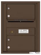 Florence 4C Mailboxes 4C06S-02 Antique Bronze