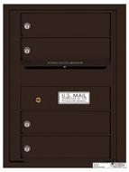 Florence 4C Mailboxes 4C06S-04 Dark Bronze