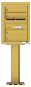 Florence 4C Pedestal 4C06S-04-P Gold Speck