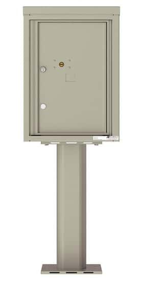 4C06S1P Parcel Lockers 4C Pedestal Mailboxes