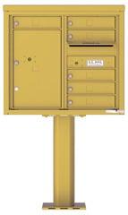 Florence 4C Pedestal 4C07D-06-P Gold Speck