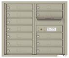 Florence 4C Mailboxes 4C07D-12 Postal Grey
