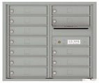Florence 4C Mailboxes 4C07D-12 Silver Speck