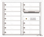 Florence 4C Mailboxes 4C07D-12 White