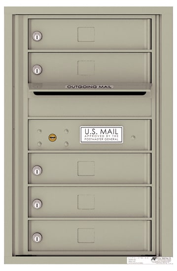 4C07S05 4C Horizontal Commercial Mailboxes