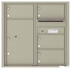 Florence 4C Mailboxes 4C08D-04 Postal Grey
