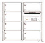 Florence 4C Mailboxes 4C08D-07 White