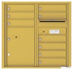 Florence 4C Mailboxes 4C08D-09 Gold Speck