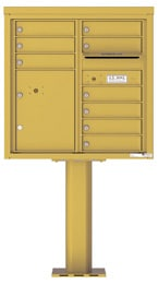 Florence 4C Pedestal 4C08D-09-P Gold Speck