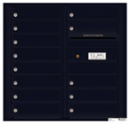 Florence 4C Mailboxes 4C08D-13 Black