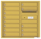 Florence 4C Mailboxes 4C08D-13 Gold Speck