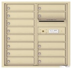 Florence 4C Mailboxes 4C08D-13 Sandstone