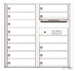 Florence 4C Mailboxes 4C08D-13 White