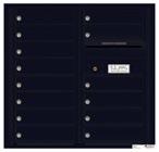 Florence 4C Mailboxes 4C08D-14 Black