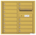 Florence 4C Mailboxes 4C08D-14 Gold Speck
