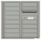 Florence 4C Mailboxes 4C08D-14 Silver Speck